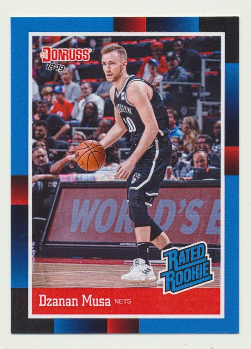 2018-19 Panini Instant NBA 1988 Rated Rookie Retro #RR27 Dzanan Musa RC Rookie Brooklyn Nets