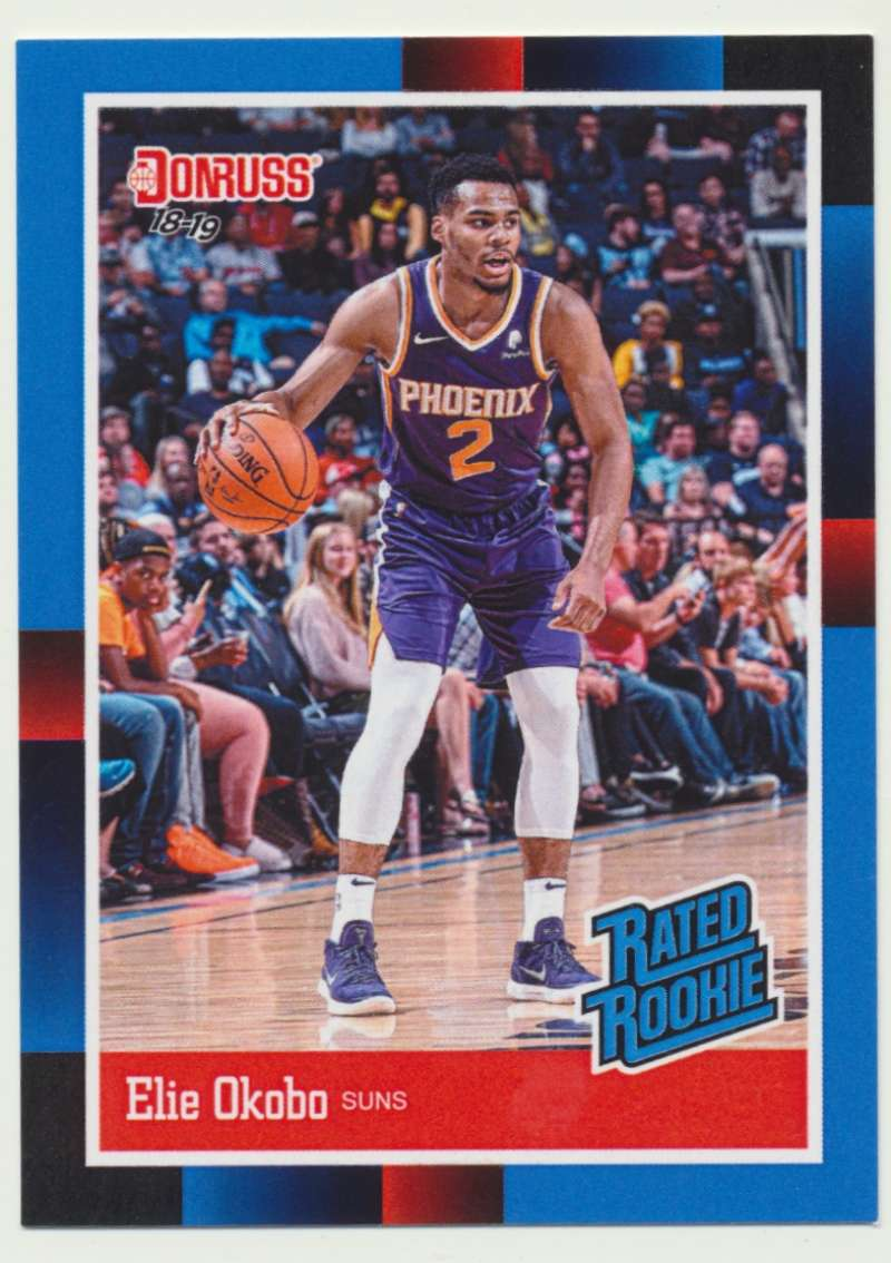 2018-19 Panini Instant NBA 1988 Rated Rookie Retro #RR29 Elie Okobo RC Rookie Phoenix Suns