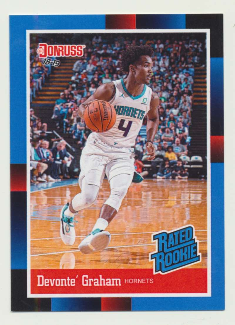 2018-19 Panini Instant NBA 1988 Rated Rookie Retro #RR32 Devonte' Graham RC Rookie Charlotte Hornets