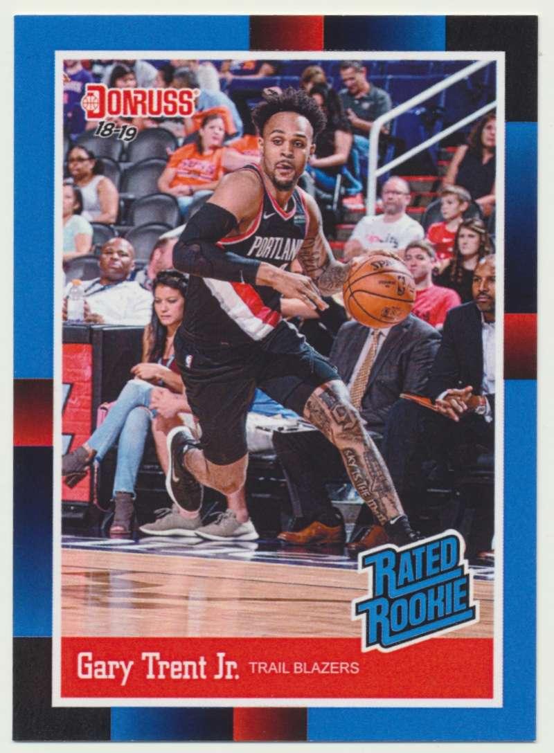 2018-19 Panini Instant NBA 1988 Rated Rookie Retro #RR33 Gary Trent Jr RC Rookie Portland Trailblazers