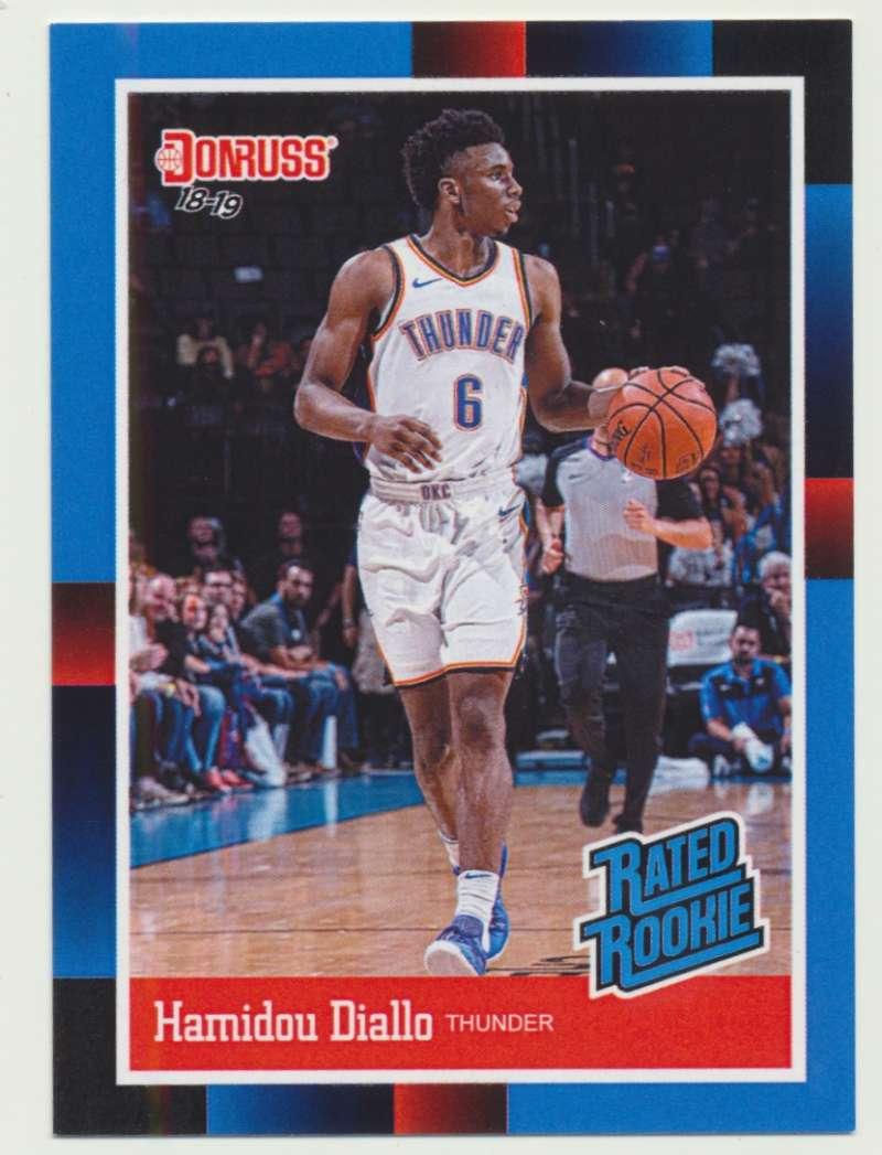 2018-19 Panini Instant NBA 1988 Rated Rookie Retro #RR38 Hamidou Diallo RC Rookie Oklahoma City Thunder