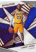 2018-19 Revolution Basketball #40 LeBron James Los Angeles Lakers  Official NBA Trading Card By Panini