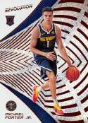 2018-19 Panini Revolution #133 Michael Porter Jr. NM-MT RC Denver Nuggets Official NBA Basketball Card