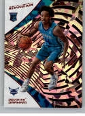 2018-19 Revolution Chinese New Year Red Parallel #140 Devonte' Graham Charlotte Hornets Rookie  Panini NBA Basketball Card