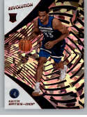 2018-19 Revolution Chinese New Year Red Parallel #142 Keita Bates-Diop Minnesota Timberwolves Rookie  Panini NBA Basketball Card