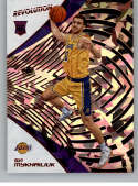 2018-19 Revolution Chinese New Year Red Parallel #144 Svi Mykhailiuk Los Angeles Lakers Rookie  Panini NBA Basketball Card