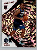 2018-19 Revolution Chinese New Year Red Parallel #145 Josh Okogie Minnesota Timberwolves Rookie  Panini NBA Basketball Card
