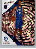 2018-19 Revolution Chinese New Year Red Parallel #146 Shake Milton Philadelphia 76ers Rookie  Panini NBA Basketball Card