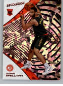 2018-19 Revolution Chinese New Year Red Parallel #148 Omari Spellman Atlanta Hawks Rookie  Panini NBA Basketball Card