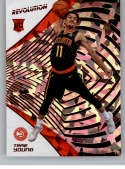 2018-19 Revolution Chinese New Year Red Parallel #150 Trae Young Atlanta Hawks Rookie  Panini NBA Basketball Card
