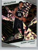 2018-19 Revolution Chinese New Year Emerald Green #57 DeMar DeRozan San Antonio Spurs  Panini NBA Basketball Card Serial Numbered to 88