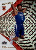 2018-19 Revolution Groove Basketball #103 Shai Gilgeous-Alexander Los Angeles Clippers Rookie  Official NBA Trading Card By Panini