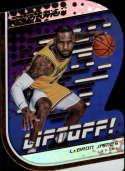 2018-19 Panini Revolution Liftoff! Basketball #4 LeBron James Los Angeles Lakers  Official NBA Trading Card By Panini
