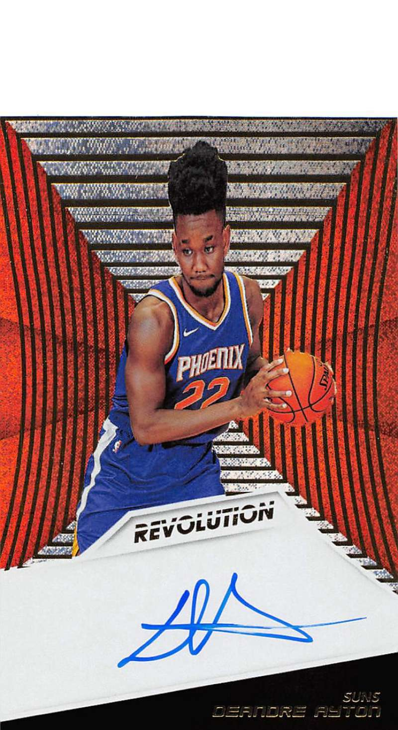 2018-19 Panini Revolution Rookie Autographs