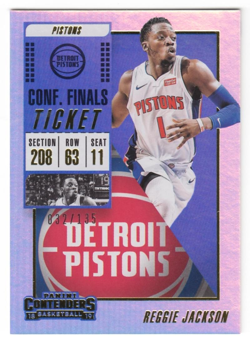 2018-19 Panini Contenders Conference Finals Ticket