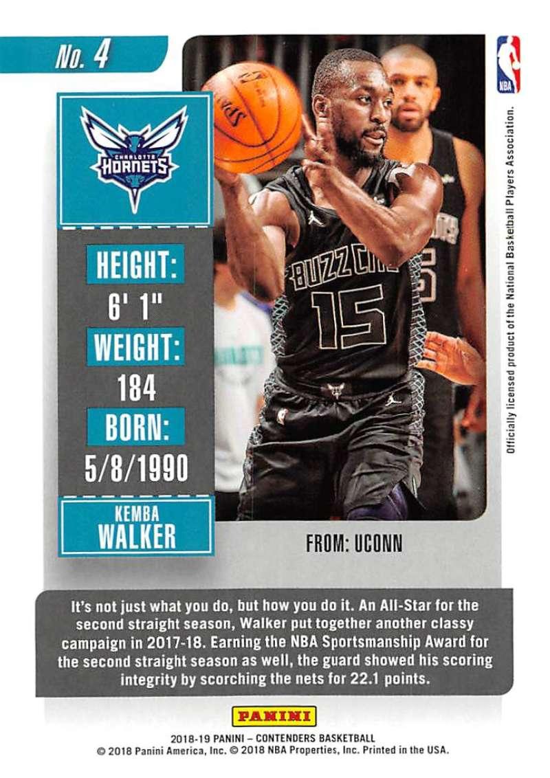 Nikola Vucevic 2017-18 Panini Contenders baloncesto Walker #32
