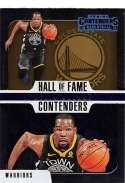 2018-19 Panini Contenders Hall of Fame Contenders #3 Kevin Durant MINT Golden State Warriors