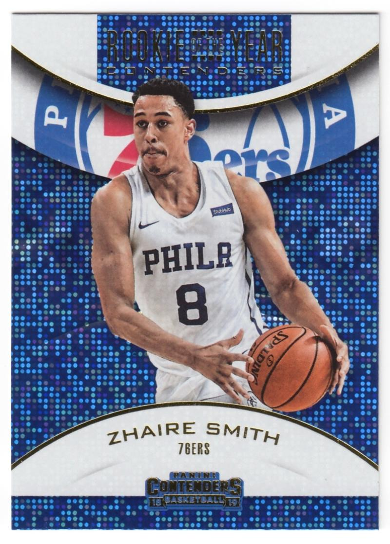 2018-19 Panini Contenders Rookie of the Year Contenders