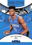 2018-19 Panini Contenders Rookie of the Year Contenders Retail #16 Mo Bamba NM-MT Orlando Magic Official NBA Trading Card