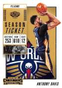 2018-19 Panini Contenders Season Ticket #81 Anthony Davis NM-MT New Orleans Pelicans  Official NBA Basketball Card