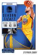 2018-19 Panini Contenders Season Ticket #86 Stephen Curry NM-MT Golden State Warriors  Official NBA Basketball Card