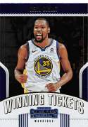 2018-19 Panini Contenders Winning Tickets #8 Kevin Durant NM-MT Golden State Warriors Official NBA Basketball Card