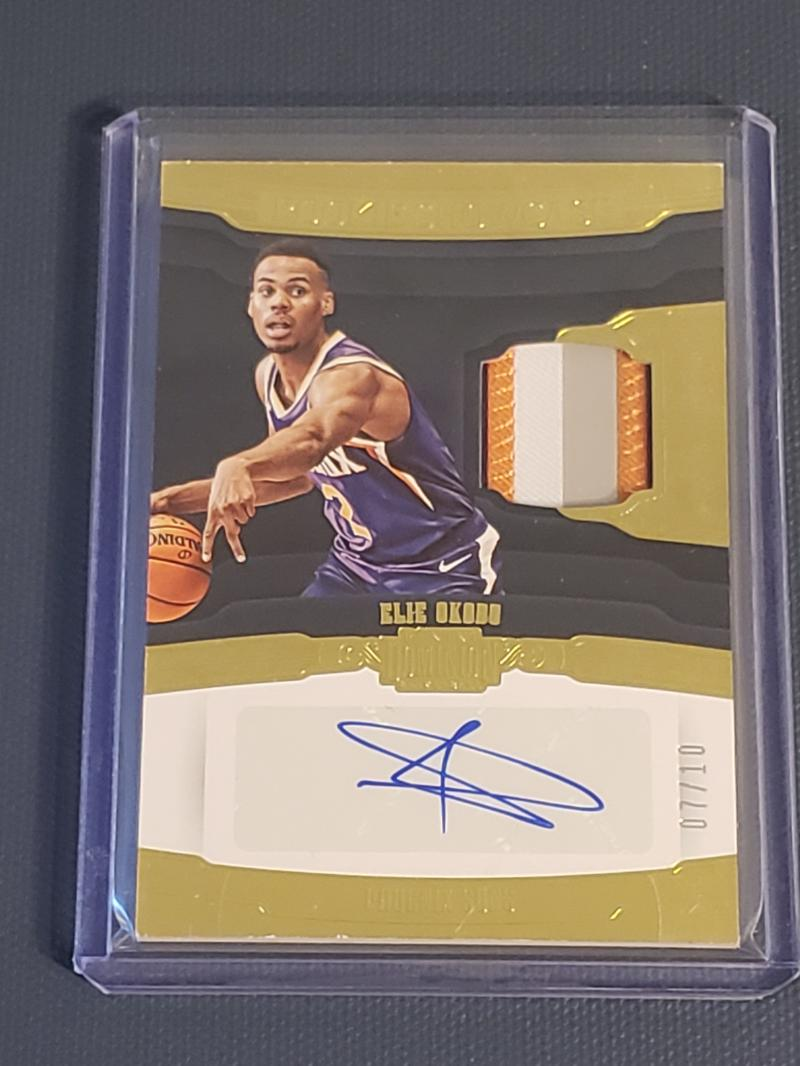 2018-19 Panini Dominion Rookie Showcase Jersey Autos Gold