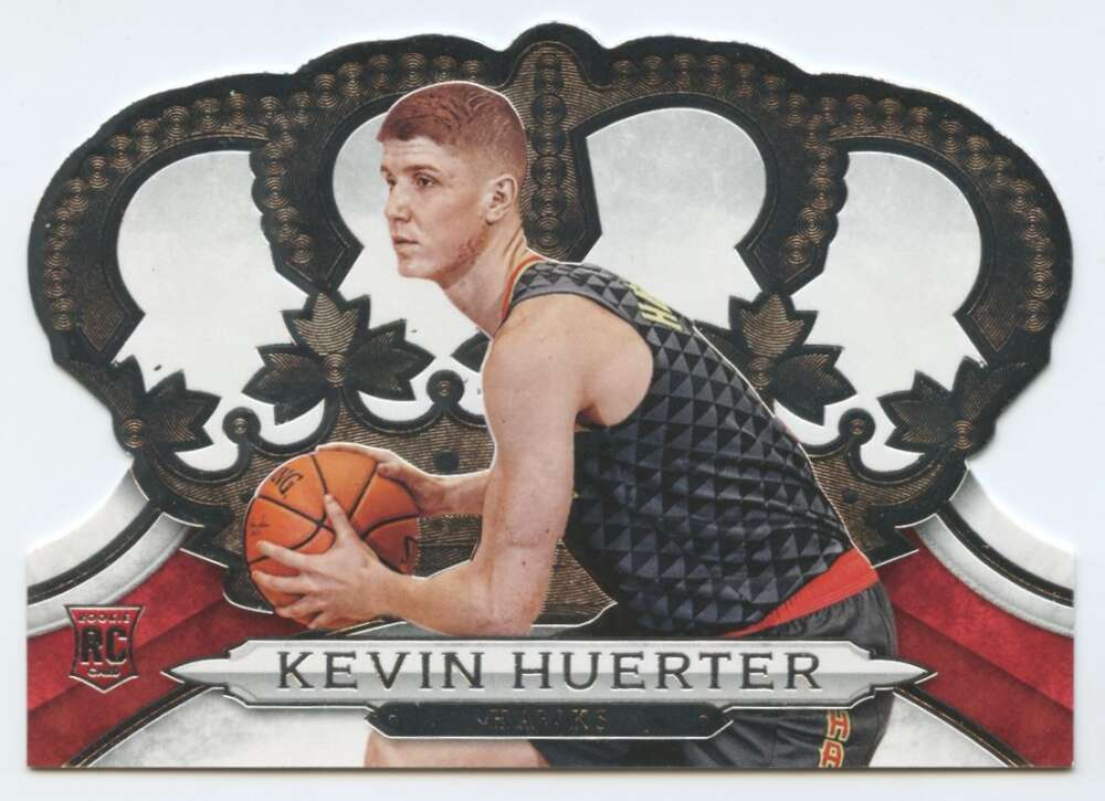 2018-19 Crown Royale Basketball #43 Kevin Huerter Atlanta Hawks  RC Rookie Card