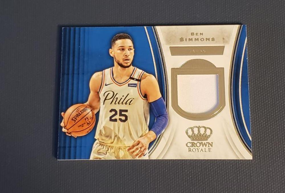 2018-19 Panini Crown Royale Jerseys