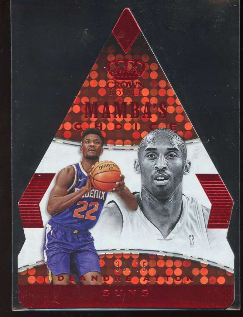 2018-19 Panini Crown Royale Mamba's Choice Red