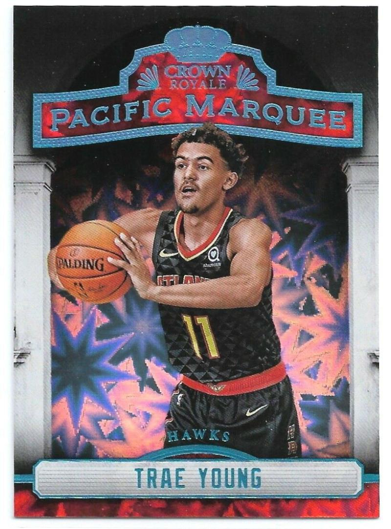 2018-19 Panini Crown Royale Pacific Marquee