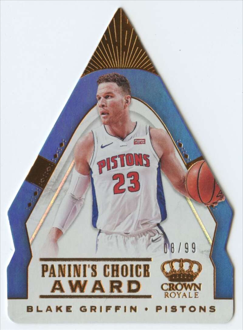 2018-19 Panini Crown Royale Panini's Choice