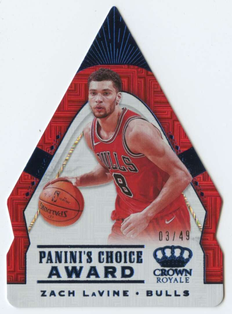 2018-19 Panini Crown Royale Panini's Choice Blue