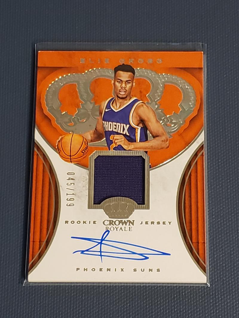 2018-19 Panini Crown Royale Rookie Jersey Autographs