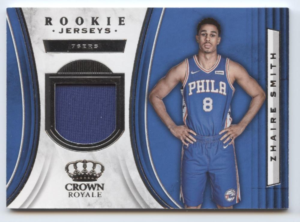 2018-19 Panini Crown Royale Rookie Jerseys