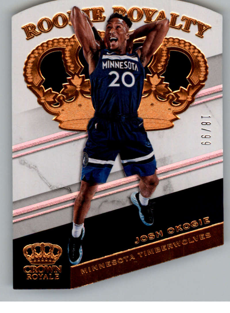 2018-19 Panini Crown Royale Rookie Royalty