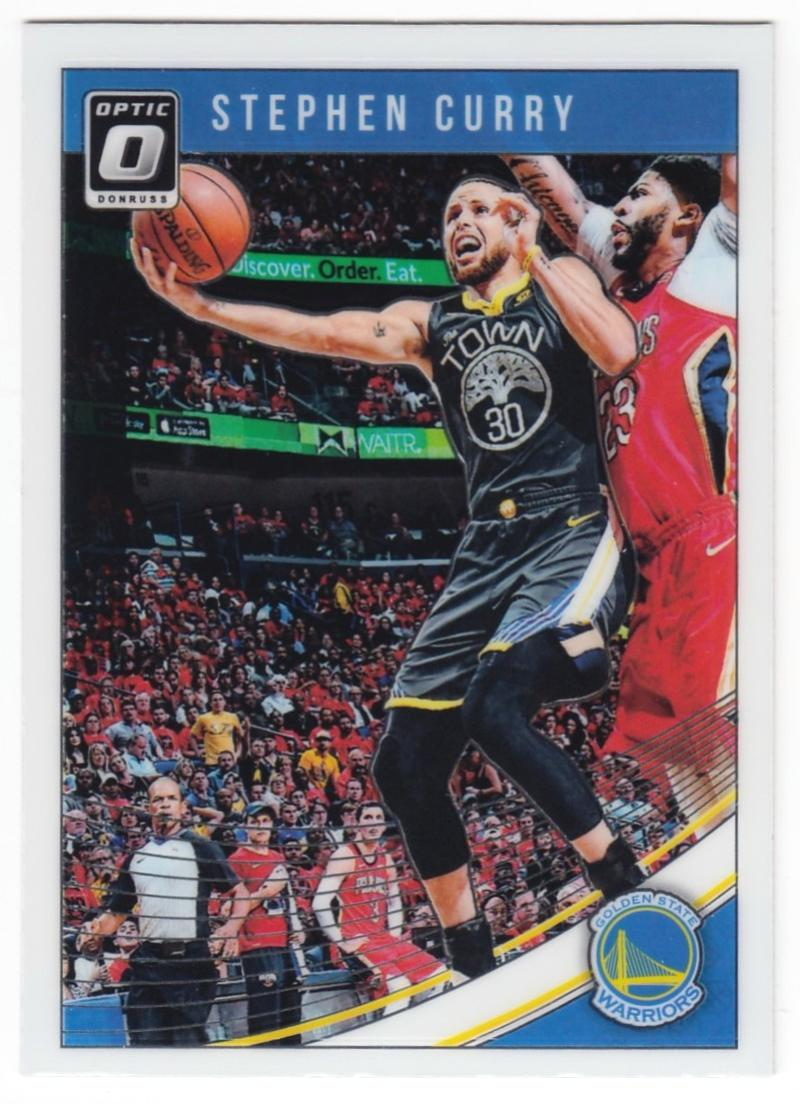 2018-19 Donruss Optic #2 Stephen Curry NM-MT Golden State Warriors  Official NBA Basketball Trading Card