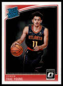 2018-19 Donruss Optic #198 Trae Young Rated Rookie NM-MT RC Rookie Atlanta Hawks
