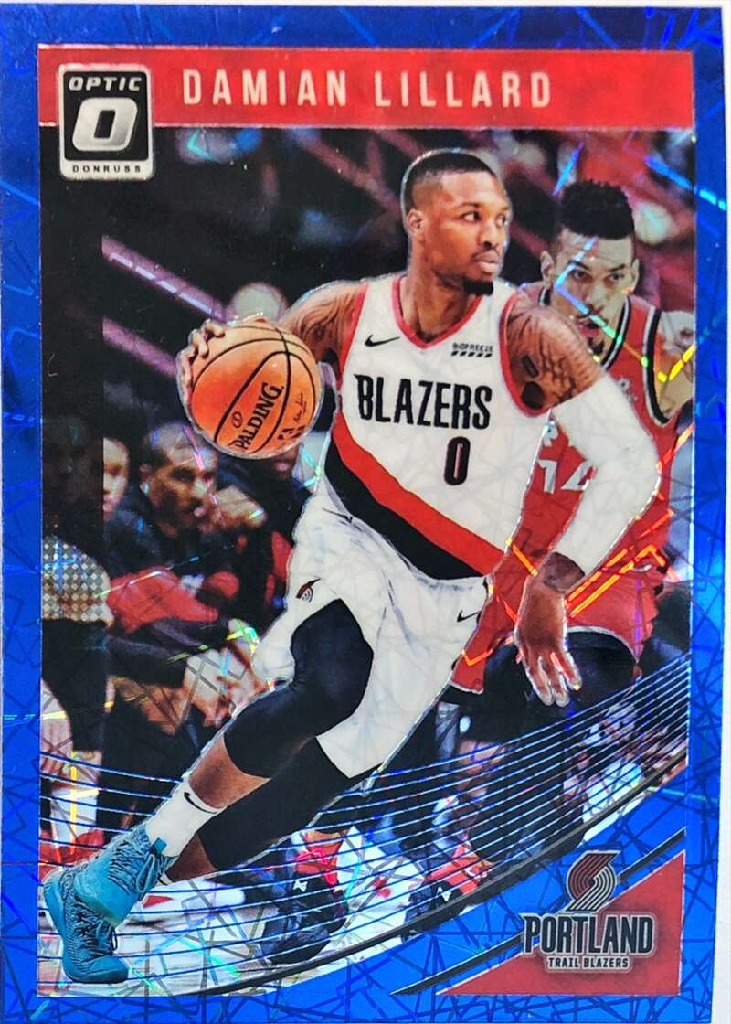 2018-19 Donruss Optic Blue Velocity