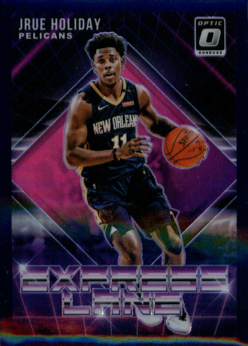 2018-19 Donruss Optic Express Lane Purple