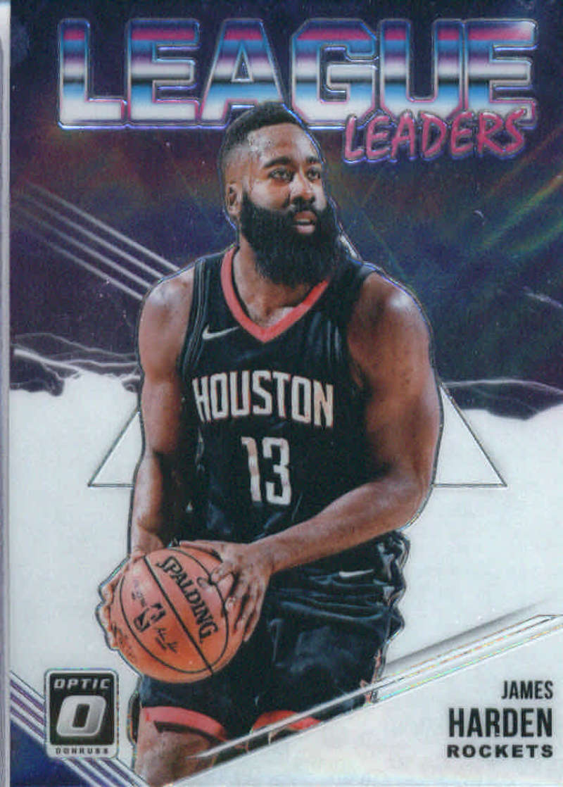 2018-19 Donruss Optic League Leaders