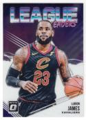 2018-19 Donruss Optic League Leaders Basketball #9 LeBron James Cleveland Cavaliers  Official NBA Trading Card From Panini
