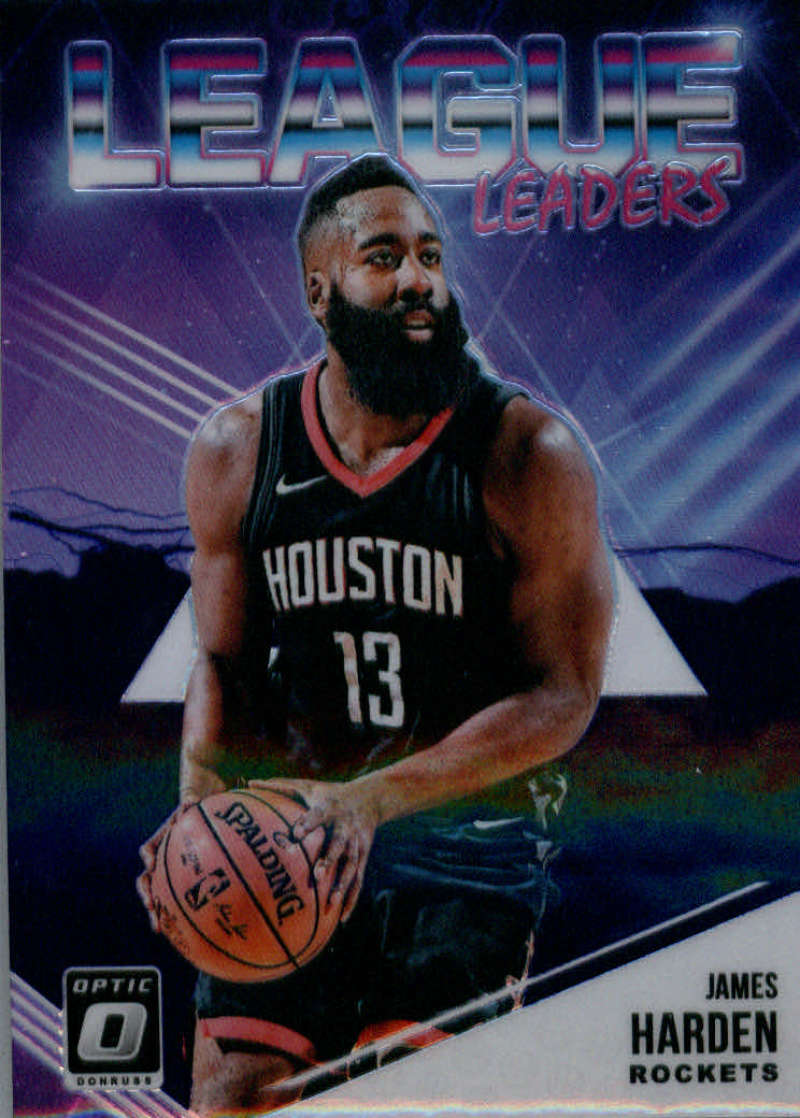 2018-19 Donruss Optic League Leaders Purple