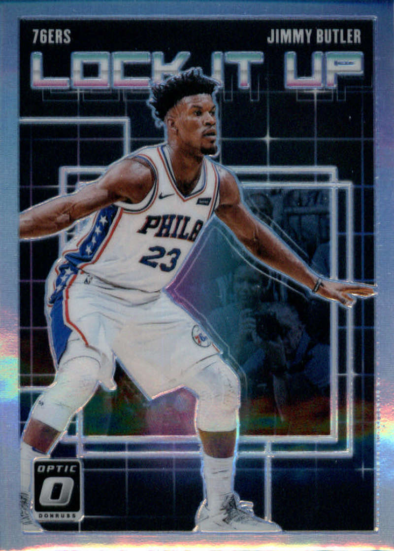 2018-19 Donruss Optic Lock it Up! Holo