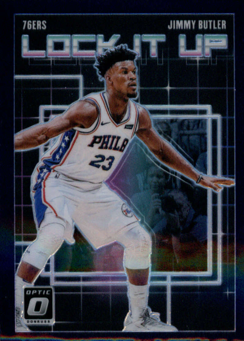 2018-19 Donruss Optic Lock it Up! Purple