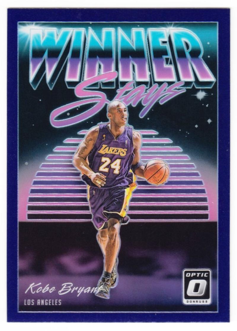 2018-19 Donruss Optic Winner Stays #14 Shaquille ONeal Los Angeles Lakers Basketball Card