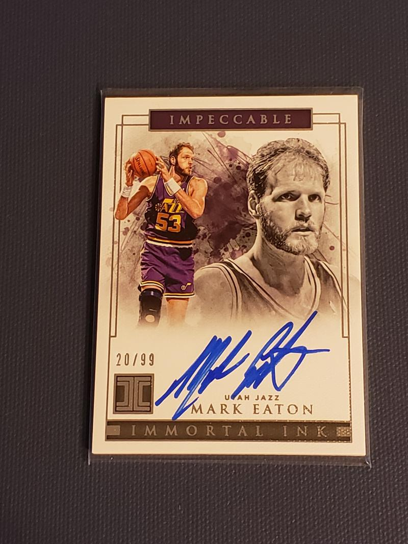 2018-19 Panini Impeccable Immortal Ink