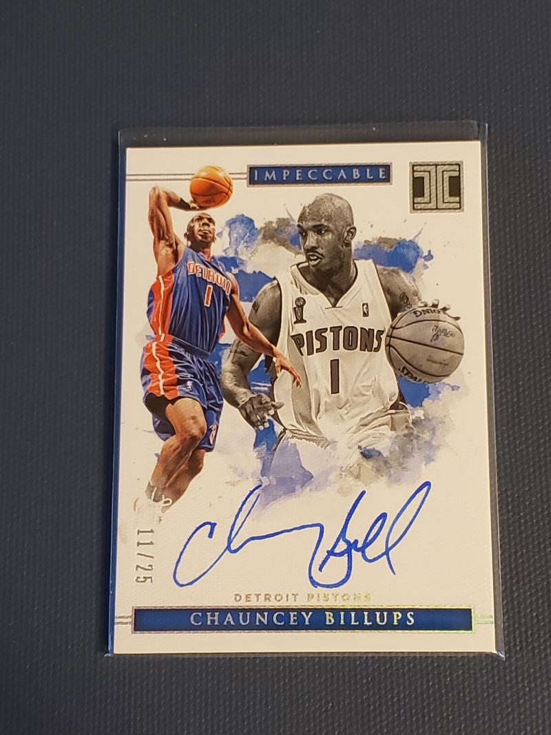 2018-19 Panini Impeccable Shots Signatures Holo Silver