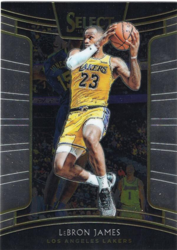 2018-19 Panini Select #11 LeBron James Concourse NM+
