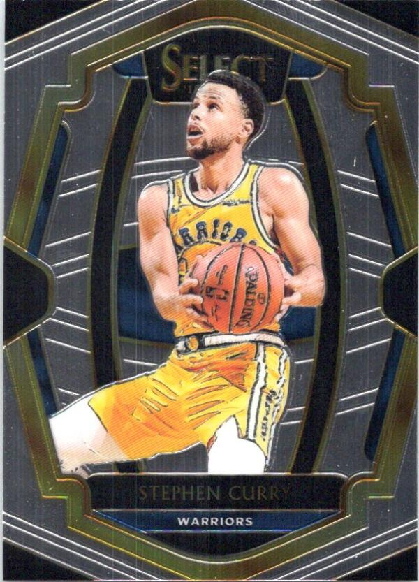 2018-19 Panini Select #108 Stephen Curry Premier Level NM+